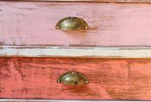 Muebles madera reciclados