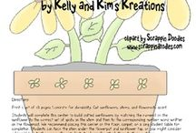 Seeds and Plants / Lessons and activities for teaching about seeds, plants, flowers, and growing these living things. Teaching ideas are for prek, kindergarten, first grade, and second grade classrooms.