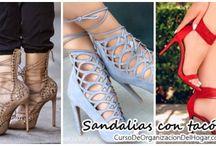 Tendencias Sandalias con tacos - Zapatillas de tacon alto
