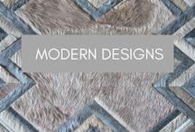 Modern Designs / Modern Hide Rug Patterns by Kyle Bunting