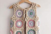 Crochet cloth & shoes