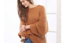 woman's knit wear