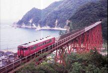 Amarube Bridged / 山陰本線にかって存在した、餘部橋梁の写真をアップしていきます。