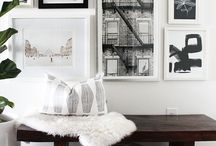 Gallery Walls / how to get a gallery wall looking its best!