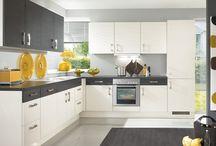 Modular kitchen l shape / by Sonu mishra