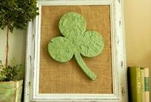 St Patrick's Day / The luck of the Irish!  St Patrick's Day Ideas!  Crafts, Rainbows, DIY, Gold Coins, Food, and Leprechauns.