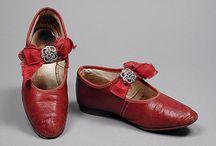 Обувь эпохи Моцарта