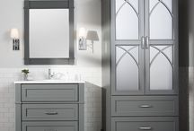 Furniture for your bathroom / New furniture cabinetry from Dura Suupreme