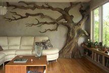 Bookcase/cat trees