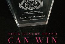 EAT LOVE SAVOR 3rd Annual Luxury Awards / EAT LOVE SAVOR International Luxury Lifestyle Magazine Annual Luxury Awards Celebrating Excellence in Luxury. Private, exclusive and intimate celebration event, being held January 2017, California.