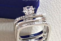 Square band wedding ring