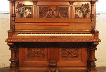 Classical Style Pianos / Pianos with Classical Style Cabinets