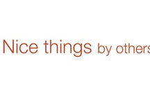 Nice things by others