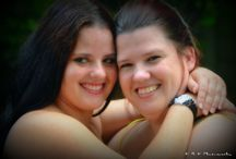 Twins / A photo shoot of two beautiful twin sisters