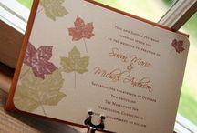 Wedding Invite/Save the Date ideas