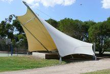 tensile fabric - Shade sail