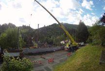 Démontage d'arbre / Abattage d'arbre par démontage avec ou sans rétention en Ardèche.