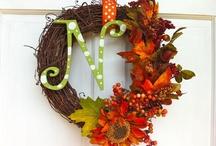 Wreath Ideas / by Kathy Stanton