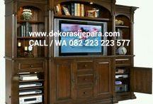 Buffet TV / Jual Bufet Tv Mewah , Bufet Tv Minimalis , Bufet Tv Ukir Klasik dari Furniture Jepara Bahan Kayu Jati & Mahoni. Telepon / WhatsApp 082 223 223 577