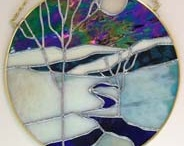 Stained Glass Ideas / Thoughts for Stained Glass / by Doris Nygaard