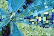 Couleur :: Paon -> Bleu sur Vert sur Bleu / by Suzanne Gauthier