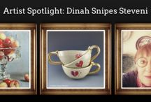 Artist Spotlight: Dinah Snipes Steveni / I paint and make pots. Thank you for having a look at what I do.