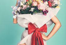 sesja kwiaciarnia