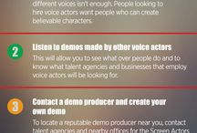 Voiceover / All about Mic People