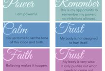 Mantras and Affirmations for Childbirth