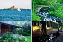 Summer Fun In New England / Whether it is a day trip, weekend getaway, or nice long vacation, there is so many wonderful things to do in New England!
