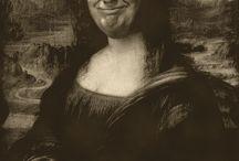 My Mona Lisa collection