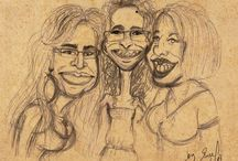 Bree Gii's Caricatures / About friends, family and people I like and admire.