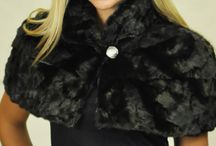 Stylish Fur Stoles and Shawls / Fashionable Fur Stoles and Shawls   www.amifur.co.uk