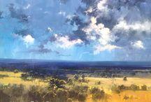 Herman Pekel Red Hill Gallery Brisbane / Impressionist Artist
