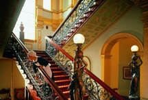 Staircases / To walk on the stairs in your own house and mansion