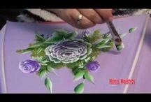 pintura tela Bego