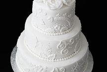 MOJE TORTY - svadobné torty / Moje svadobné tortičky (My wedding cakes)
