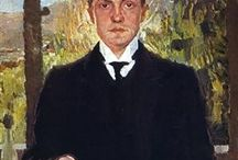 Max Beckmann / 1884 in Leipzig, Germany - 1950 in New York City, United States -  Expressionism, New Objectivity (Neue Sachlichkeit) Painting School: Berlin Secession, Degenerate art. Field: painting, printmaking, sculpture, drawing. Influenced by: Edvard Munch, Henri Rousseau. Art institution: Städelschule (Academy of Fine Art), Frankfurt, Germany.