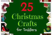 Toddler crafts / by Tabitha Sebert