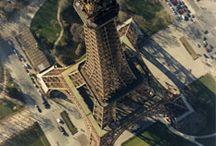 Histoire-Gustave Eiffel / une partie des réalisation de Gustave Eiffeil
