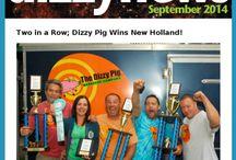 DizzyNews / Dizzy Pig's Monthly Newsletter