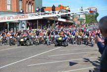 Fat Tire Bike Race Hayward WI