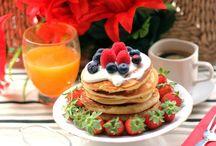 Breakfasts for happy days / Yummy ideas for breakfast