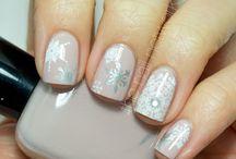 Nail design / Snow flake