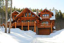 Log Home / Log house ideas
