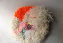 MY TEXTIL WORK / Mon travail textile