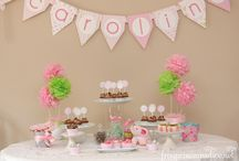 Baby Shower Ideas / by Debbie Yarbrough Guessetto