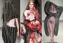 """Achtung! / Ну, скажите, кто в таком пойдет и где его таким встретят?? Анти-модные показы с """"оригинальными"""" дизайнерскими решениями."""