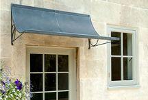 front door roof