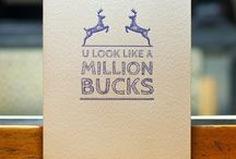MANstationery / Letterpress cards and stationery for men